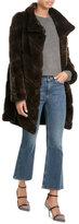 Yves Salomon Rabbit Fur Coat