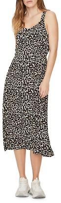 Vero Moda Sleeveless Leopard Printed Dress