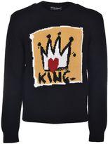 Dolce & Gabbana King Intarsia Sweater