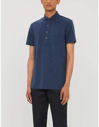 Ralph Lauren Purple Label Patch-pocket cotton-piqué polo shirt