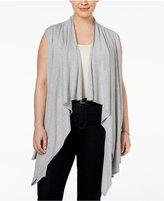 MICHAEL Michael Kors Size Draped Knit Vest
