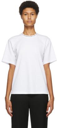 Victoria Victoria Beckham White Logo T-Shirt