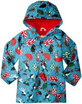 Hatley Raining Dogs Raincoat (Toddler/Kid) - Blue - 2