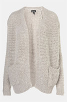Topshop Feather Knit Cardigan
