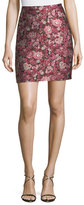 ADAM by Adam Lippes Floral Brocade Mini Skirt