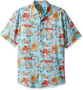 Margaritaville Men's Short Sleeve Aloha Spirit Print Shirt