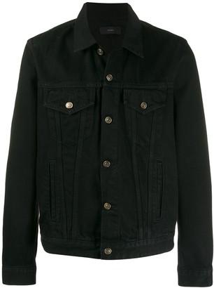 Alanui Embroidered Back Denim Jacket