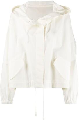 Jil Sander Essential Outdoor 3 hooded jacket