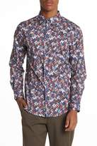 Perry Ellis Pixel Stretch Fit Shirt