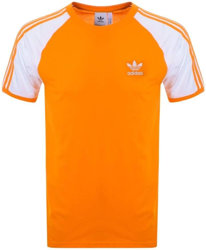 adidas California T Shirt Orange