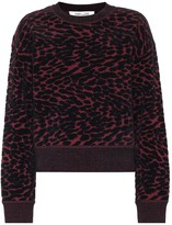Diane von Furstenberg Cassia cotton-blend sweater