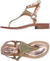 Coral Blue Toe strap sandals - Item 11149540