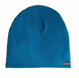 Grace Eleyae GE Sleep Cap | Slap Silky Adjustable Cap Stylish Premium Quality Beanie Hat Head Cover for Curly Hair Women Soft & Smooth One Size Fits All (Fall Teal)