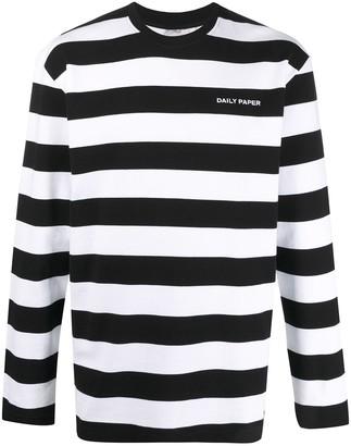 Daily Paper Striped Sweatshirt