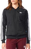 adidas Solid Zip-Front Sweatshirt