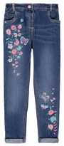 George Floral Embroidered Jeans