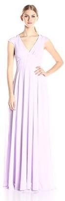 Minuet Women's Cap Sleeve Long Gown