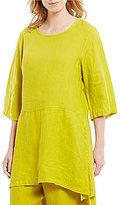 Bryn Walker Bre 3/4 Sleeve Light Linen Tunic