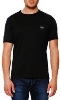 Dolce & Gabbana Logo Placket T-Shirt, Black