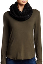 Michael Stars Sequin Knit Infinity Scarf