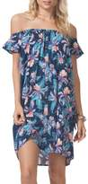 Rip Curl Tropic Off the Shoulder Cover-Up Dress