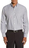 Cutter & Buck Men's 'Epic Easy Care' Regular Fit Mini Bengal Stripe Sport Shirt