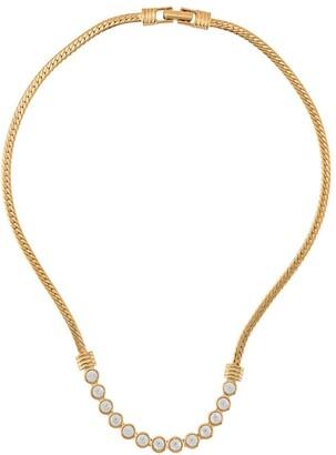 Susan Caplan Vintage 1980s Swarovski necklace