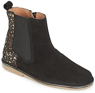 Citrouille et Compagnie JUSDE girls's Mid Boots in Black