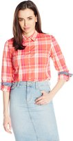 Tommy Hilfiger Kelly Oversized Plaid Woven