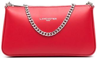 Lancaster Smooth zip clutch bag