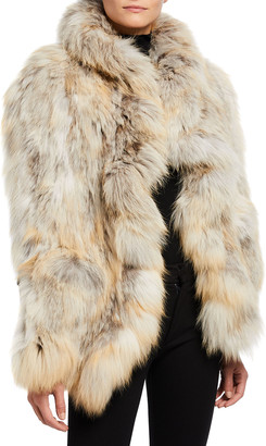 Gorski Golden Island Fox Fur Pocket Stole