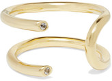Elizabeth and James Aldona Gold-plated Topaz Ring