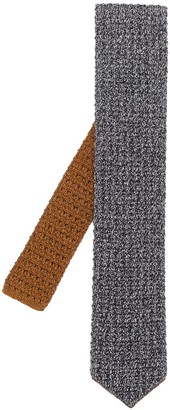 Lardini Knitted Two Tone Tie