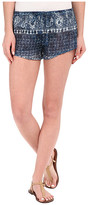 Amuse Society Alva Printed Gauze Shorts