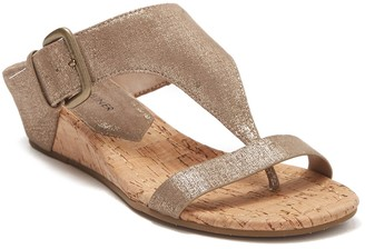 Donald J Pliner Dylan Cork Wedge Sandal