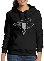 Sarah Women's Toronto Blue Jays Platinum Logo Hoodie XL