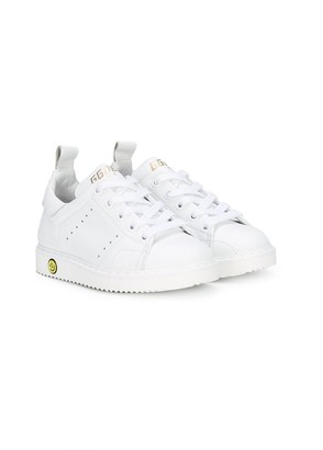 Golden Goose Kids Perforated Lace-Up Sneakers