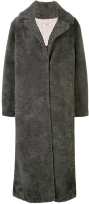Yves Salomon Meteo oversized midi coat