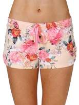 PJ Salvage Rosy Outlook Lace Shorts