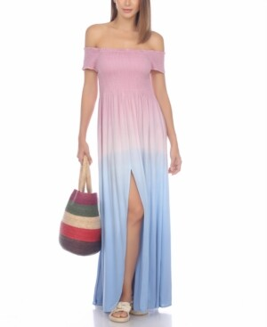 Raviya Tie-Dye Maxi Dress Cover-Up Women's Swimsuit
