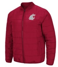 Colosseum Washington State Cougars Men's Holt Packable Jacket