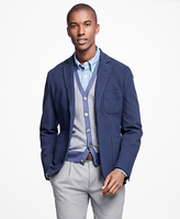 Brooks Brothers Double-Knit Patch Pocket Blazer