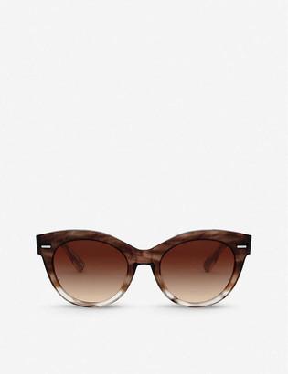 Oliver Peoples OV5421SU 53 The Row Georgia acetate cat-eye sunglasses