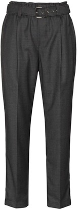Brunello Cucinelli Straight Leg Belted Trousers