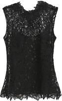 Oscar de la Renta Couture Lace Blouse