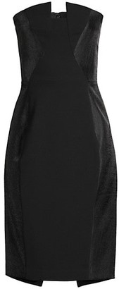 Black Halo Lena Sheath Dress