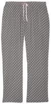 PJ Salvage Plus Size Women's Polka Dot Pajama Pants