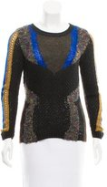 Etro Printed Long Sleeve Sweater