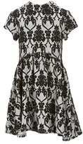 My Michelle Big Girls 7-16 Patterned Fit-And-Flare Dress
