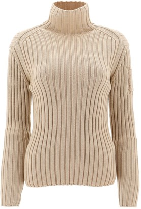 Chloé Ribbed Turtleneck Sweater